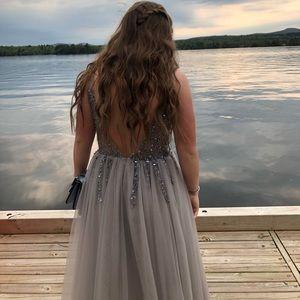 Custom made beautiful hand beaded dress
